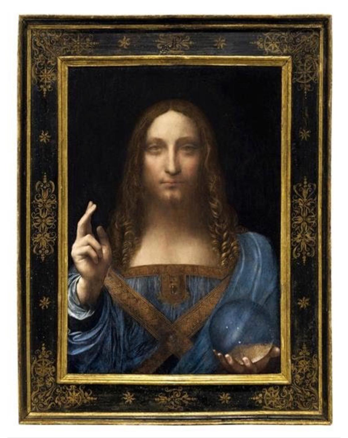 レオナルド・ダビンチの油絵「サルバトール・ムンディ」508億円の落札者は誰だ?