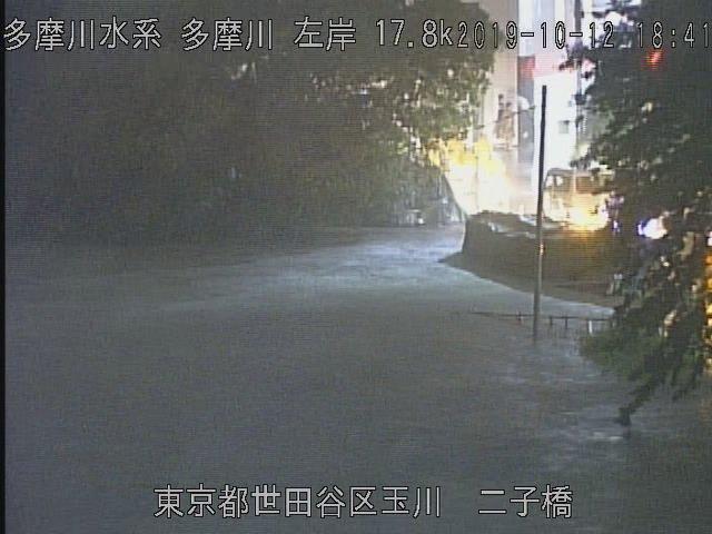 世田谷区氾濫
