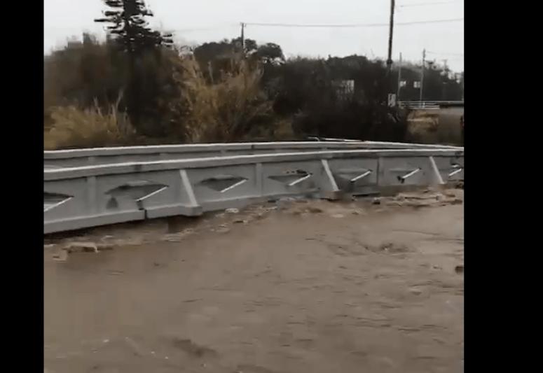 千葉川氾濫